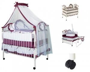 Детская кроватка – от люльки до трансформера