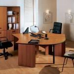 Разновидности материалов, из которых производится офисная мебель
