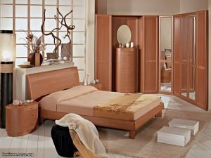 Оформление спальни — мебель спальня