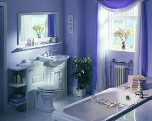 Как разместить мебель в ванной.