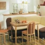 Как выбирать кухонный уголок?