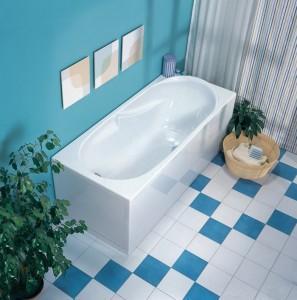 Ванная. Эмалировка ванной.