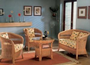 Плетёная мебель — мебель для души