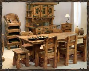 Деревянная мебель из массива дуба