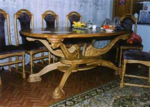 Преимущества натуральной мебели из массива дерева