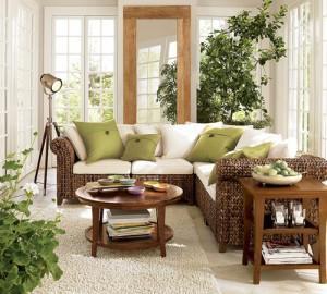 Эко- стиль в интерьере частного дома