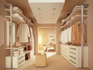Какая должна быть гардеробная комната в доме
