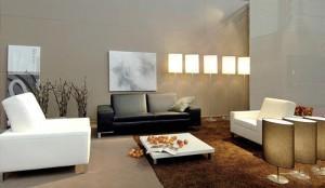 Компоновка мебели и функции гостиной
