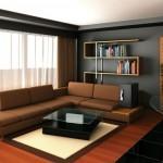 Выбор системы отопления и стиля современной гостиной