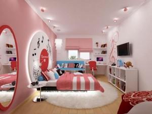 Интерьер комнаты для девушки- подростка
