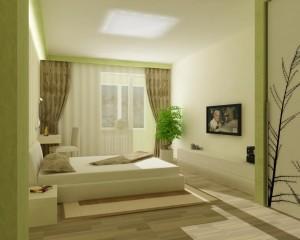 Дизайн спальни и оформление изголовья
