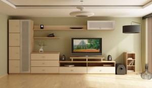 Корпусная мебель — неотъемлемый атрибут домашнего помещения
