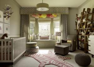 Интерьер и зонирование детской спальни