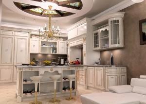 Продумываем интерьер кухни исходя из стоимости квадратного метра