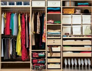 Как выбрать место для домашнего гардероба
