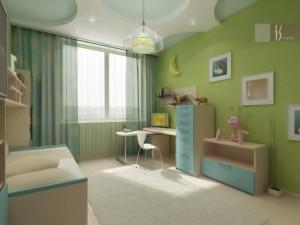 Интерьер для детксой комнаты