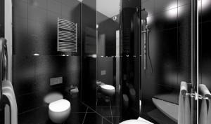 Дизайн ванной комнаты и полотенцесушитель. Правила установки
