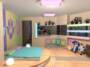 Интерьер детской комнаты – каким его сделать?