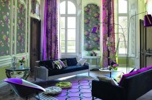 Яркий цветочный текстиль. Как его грамотно использовать в интерьере