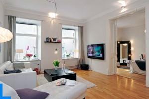 Однокомнатная квартира в скандинавском стиле. Как это сделать?