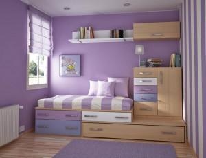 Компактная детская спальня. Свежие идеи ремонта