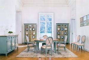«Вкусная» гостиная в классическом стиле