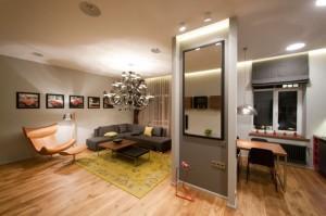Некоторые особенности организации квартиры-студии