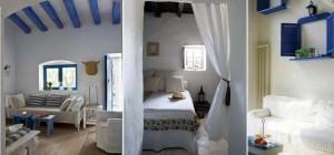 Интерьер спальни в стиле Средиземноморья