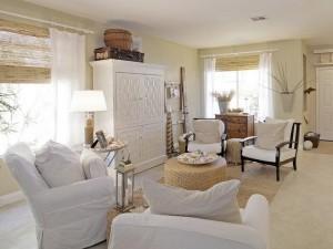 Дизайн коттеджа и белая мебель. Как выбрать?